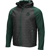 Colosseum Men's Oregon Ducks Grey/Green Baseplate Full-Zip Jacket