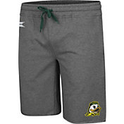 Colosseum Men's Oregon Ducks Grey Farmer Fran French Terry Shorts
