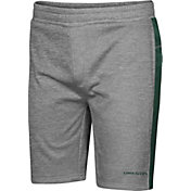 Colosseum Men's Oregon Ducks Grey Take A Knee Fleece Shorts