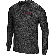 Colosseum Men's Arkansas Razorbacks 5 Crawfish Dinners Long Sleeve Black T-Shirt