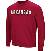 Colosseum Men's Arkansas Razorbacks Cardianl Playbook Fleece