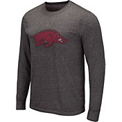 Colosseum Men's Auburn Tigers Grey Long Sleeve T-Shirt