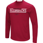 Colosseum Men's Arkansas Razorbacks Cardinal Long Sleeve Performance T-Shirt