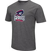 Colosseum Men's Robert Morris Colonials Grey Dual Blend T-Shirt