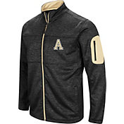 Colosseum Men's Army West Point Black Knights Glacier Full-Zip Black Jacket