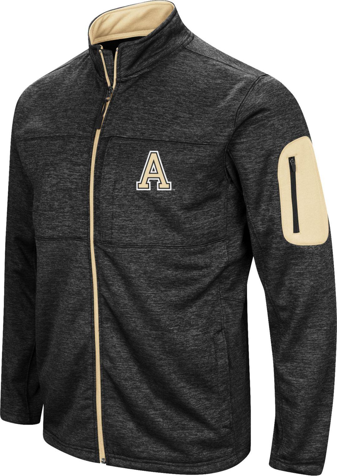 5b0bd030d68b Colosseum Men s Army West Point Black Knights Glacier Full-Zip Black Jacket  1