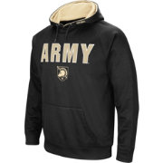 Colosseum Men's Army West Point Black Knights Army Black Fleece Pullover Hoodie