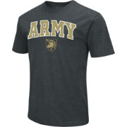 Colosseum Men's Army West Point Black Knights Dual Blend Army Black T-Shirt