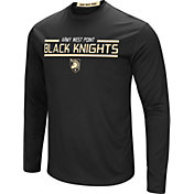 Colosseum Men's Army West Point Black Knights Army Black Long Sleeve Performance T-Shirt