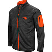 Colosseum Men's Oregon State Beavers Glacier Full-Zip Black Jacket