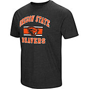 Colosseum Men's Oregon State Beavers Grey Tri-Blend T-Shirt