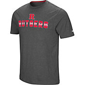 Colosseum Men's Rutgers Scarlet Knights Grey Medula Oblongata T-Shirt