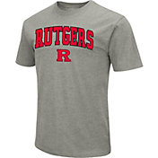 Colosseum Men's Rutgers Scarlet Knights Grey Dual Blend T-Shirt
