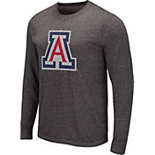 Colosseum Men's Arizona State Sun Devils Grey Long Sleeve T-Shirt