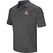 Colosseum Men's Arizona Wildcats Grey Cut Shot Polo