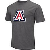 Colosseum Men's Arizona Wildcats Grey Dual Blend T-Shirt