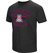 Colosseum Men's Arizona Wildcats Grey Tri-Blend T-Shirt