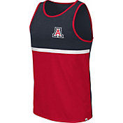 Colosseum Men's Arizona Wildcats Navy/Cardinal La Paz Tank Top