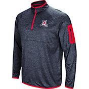 Colosseum Men's Arizona Wildcats Navy Amnesia Quarter-Zip Shirt