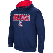 Colosseum Men's Arizona Wildcats Navy Fleece Pullover Hoodie