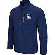 Colosseum Men's Arizona Wildcats Navy Townie Half-Zip Jacket
