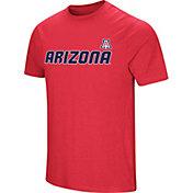 Colosseum Men's Arizona Wildcats Cardinal Brushed Performance T-Shirt
