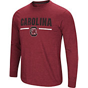 Colosseum Men's South Carolina Gamecocks Garnet Touchdown Long Sleeve T-Shirt