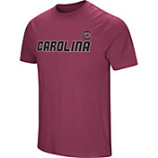Colosseum Men's South Carolina Gamecocks Garnet Brushed Performance T-Shirt