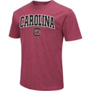 Colosseum Men's South Carolina Gamecocks Garnet Dual Blend T-Shirt