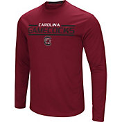 Colosseum Men's South Carolina Gamecocks Garnet Long Sleeve Performance T-Shirt