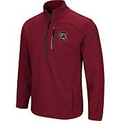 Colosseum Men's South Carolina Gamecocks Garnet Townie Half-Zip Jacket