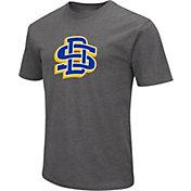 Colosseum Men's South Dakota State Jackrabbits Grey Dual Blend T-Shirt