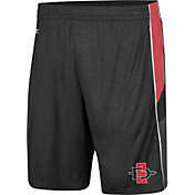 Colosseum Men's San Diego State Aztecs Triple A Black Shorts