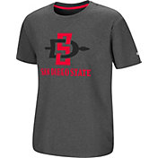 Colosseum Youth San Diego State Aztecs Grey Junior T-Shirt