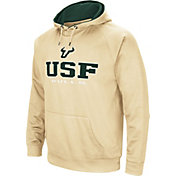 Colosseum Men's South Florida Bulls Gold Fleece Pullover Hoodie