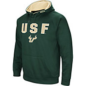 Colosseum Men's South Florida Bulls Green Fleece Pullover Hoodie