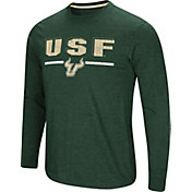 Colosseum Men's South Florida Bulls Green Touchdown Long Sleeve T-Shirt