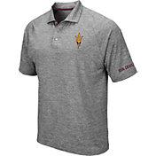 99a6b22b3fd Product Image · Colosseum Men s Arizona State Sun Devils Grey Chip Shot Polo