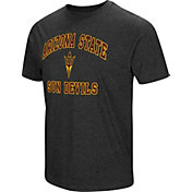 Colosseum Men's Arizona State Sun Devils Grey Tri-Blend T-Shirt