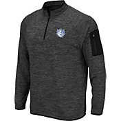 Colosseum Men's Saint Louis Billikens Grey Quarter-Zip Shirt