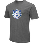 Colosseum Men's Saint Louis Billikens Grey Dual Blend T-Shirt