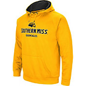 Colosseum Men's Southern Miss Golden Eagles Gold Fleece Pullover Hoodie