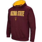 Colosseum Men's Arizona State Sun Devils Maroon Fleece Pullover Hoodie