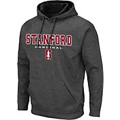 Colosseum Men's Stanford Cardinal Grey Pullover Hoodie