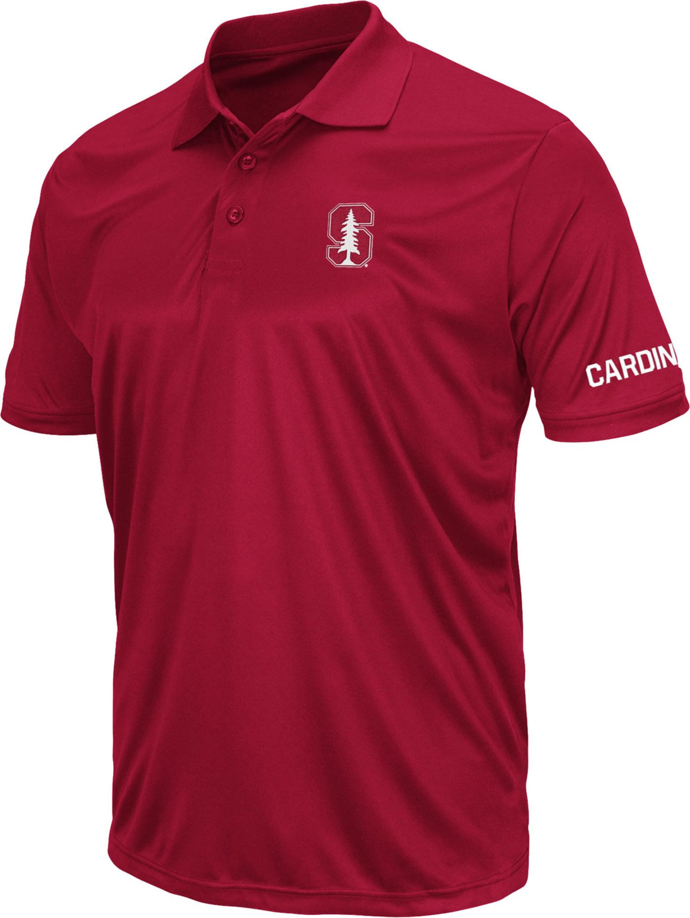 Colosseum Men's Stanford Cardinal Cardinal Stance Polo