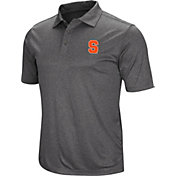 Colosseum Men's Syracuse Orange Grey Polo