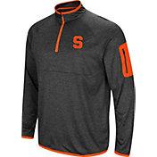 Colosseum Men's Syracuse Orange Grey Amnesia Quarter-Zip Shirt