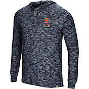 Colosseum Men's Syracuse Orange Blue 5 Crawfish Dinners Long Sleeve T-Shirt