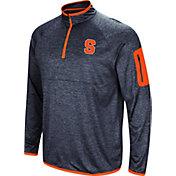 Colosseum Men's Syracuse Orange Blue Amnesia Quarter-Zip Shirt
