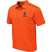 Colosseum Men's Syracuse Orange Blue Eagle Polo